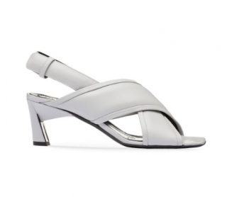 Marni Nappa Lambskin Crossover Sandals
