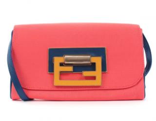 Fendi Colourblock Fan Di Crossbody Bag