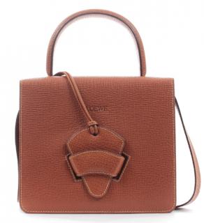 Loewe Brown Vintage Barcelona Top Handle Bag