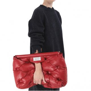 Maison Margiela Red Large Glam Slam Bag