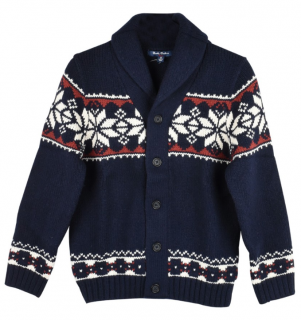 Brooks Brothers Fairisle Knit Cardigan