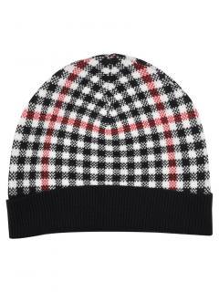 Brooks Brothers Girls Windowpane Wool Blend Hat