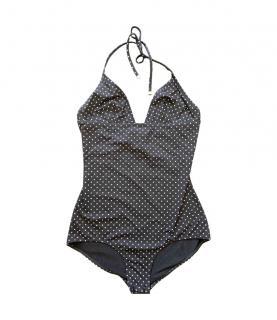 Dolce & Gabbana Polka Dot Halterneck Swimsuit