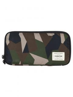 Mackintosh Camouflage Porter Long Zip Wallet