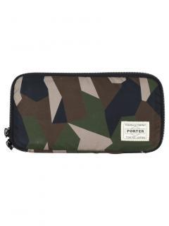 Mackintosh Camouflage Porter Long Zip Wallet