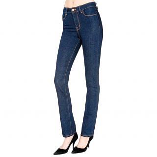 J Brand indigo wash skinny high rise jeans