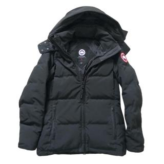 Canada Goose Black Quilted Duck Down Chelsea Parka