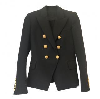 Balmain classic black double breasted blazer