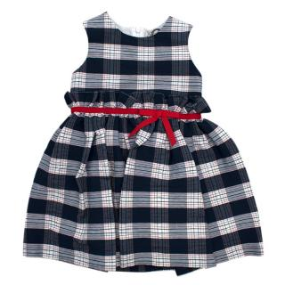 Jo Milano Scottish Navy Check Dress