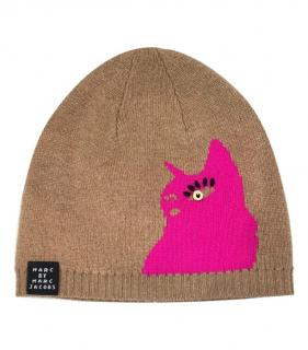Marc By Marc Jacobs Virgin Wool Cat Beanie