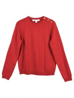 Brooks Brothers Girls Cable Knit Cashmere Jumper