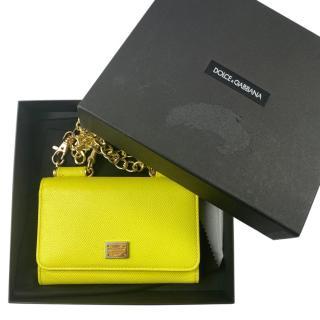 Dolce & Gabbana Yellow Sicily Von bag