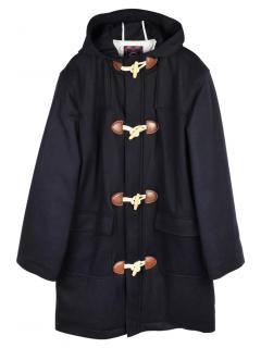 Brooks Brothers Boys Wool Blend Duffle Toggle Coat.