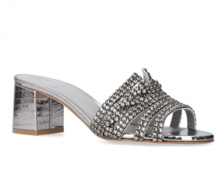 Gina Crystal Embellished Visage Sandals