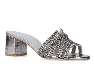 Gina Crystal Embellished Visage Sandals