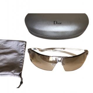 Dior Vintage Clear Diorstunt Sunglasses