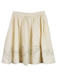 Bonpoint 12Y Embroidered Skirt