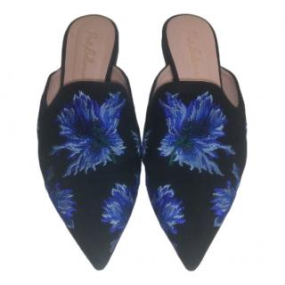 Pretty Ballerinas Embroidered SHE Slippers