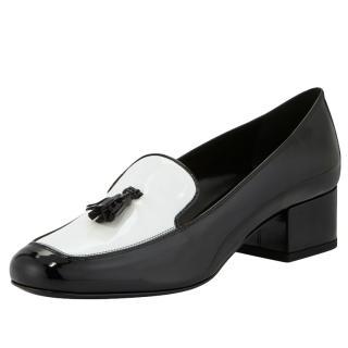 Saint Laurent Babies patent loafers