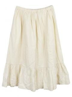 Bonpoint 8Y Embroidered Skirt