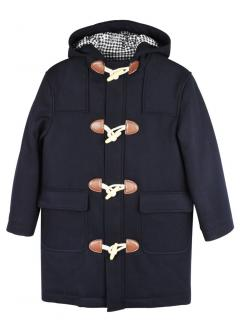 Brooks Brothers Navy Wool Kids Duffle Coat