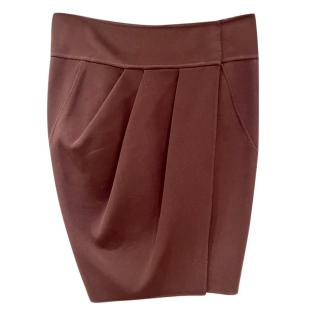 Donna Karan Pleated Tulip Skirt