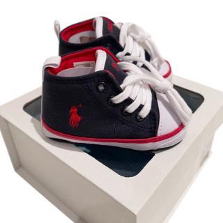 Ralph Lauren Baby Polo Sneakers