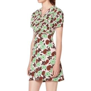 Sandro Floral Print multicolored Dress