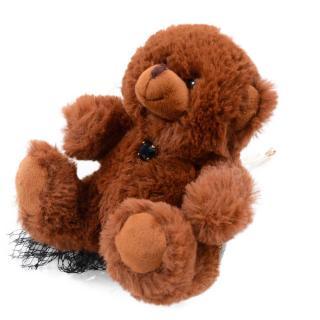 Dolce & Gabbana Teddy Bear Embellished Hair Slide