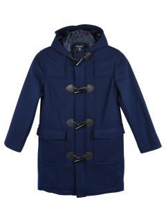 Brooks Brothers Blue Wool Kids Duffle Coat