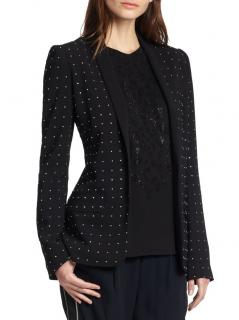 A.L.C. rhinestone embellished black James Blazer