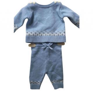 Jacadi wool and cashmere newborn suit
