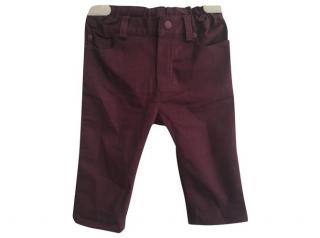 Dior Baby burgundy pants 3-6 months