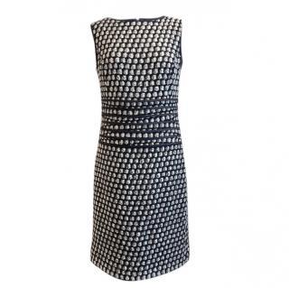 Oscar de la Renta boucle wool midi dress