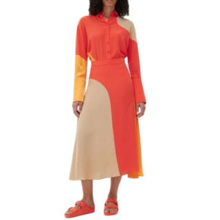 Chianti and Parker silk Flash skirt