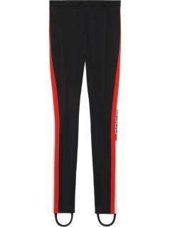 Gucci Black Technical Jersey Stirrup Leggings