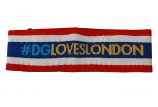 Dolce & Gabbana Striped London Headband