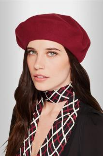 Gucci Red Wool Beret