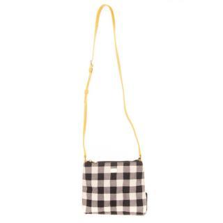 Dolce & Gabbana kids plaid crossbody bag