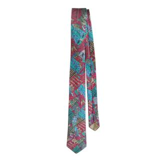 Hermes Etendards et Bannieres Vintage Silk Tie
