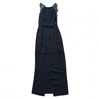 Samsoe & Samsoe black lace detail dress