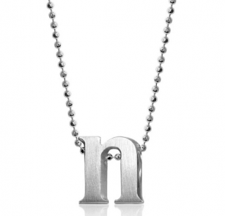 Alex Woo Sterling Silver N pendant