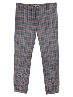 Bonpoint boys checked wool trousers