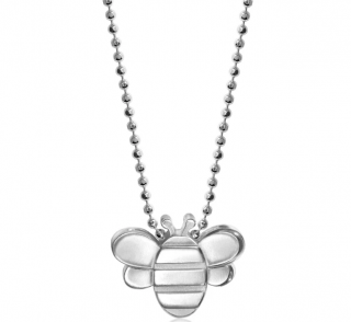 Alex Woo Seasons Bee Sterling Silver Pendant Necklace