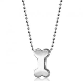 Alex Woo Activist Bone Sterling Silver Pendant Necklace