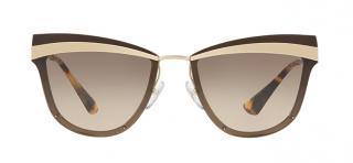 Prada Tortoiseshell Cat-Eye Sunglasses