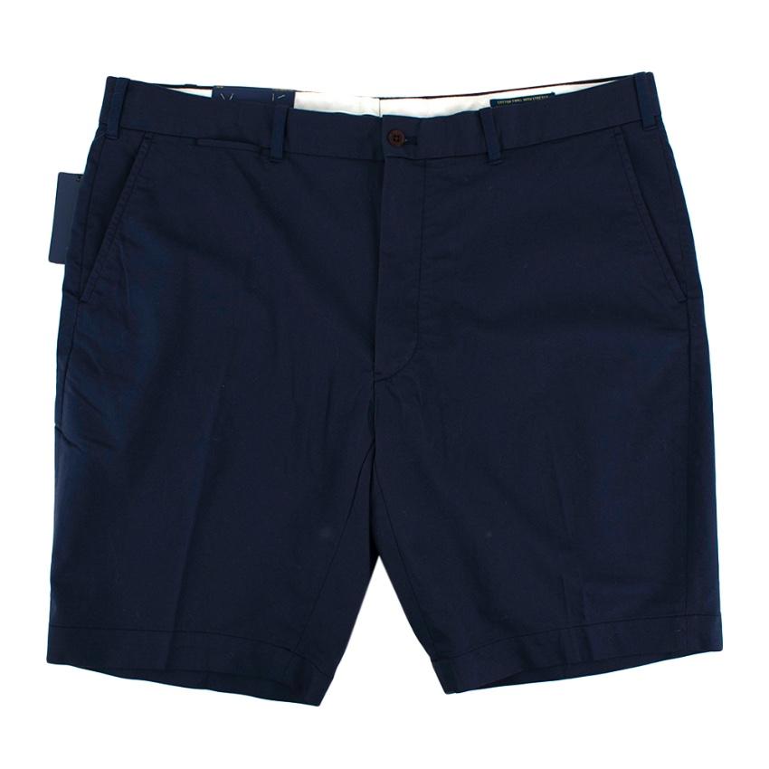Polo Golf Ralph Lauren Navy Tailored Fit Shorts