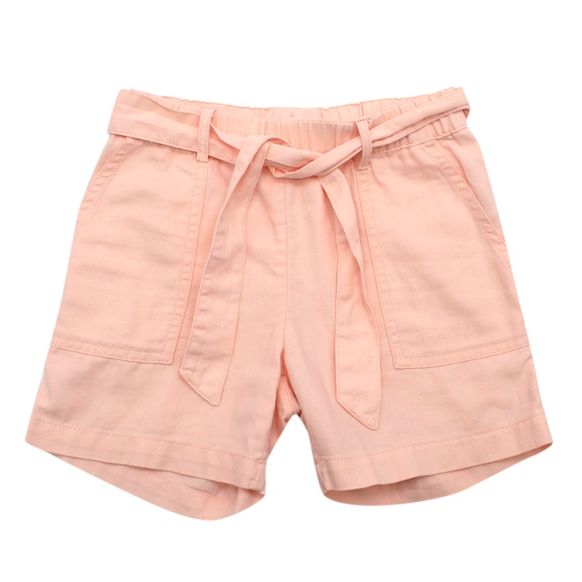 Bonpoint Pink Shorts With Belt