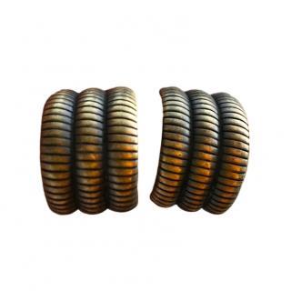 Christian Dior Vintage Brass tone Earrings