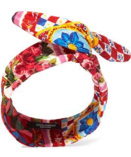 Dolce & Gabbana Mambo Brocade Headband